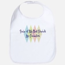 Counselors Friends Bib