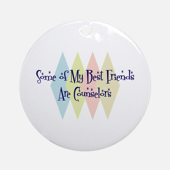 Counselors Friends Ornament (Round)