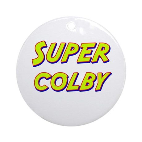 Super colby Ornament (Round)