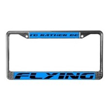 Flying License Plate Frame