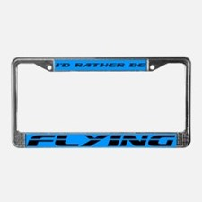 Flying License Plate Frame
