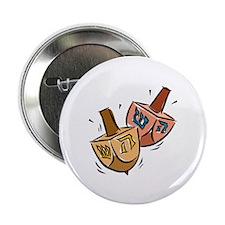 """Dreidels 2.25"""" Button (10 pack)"""