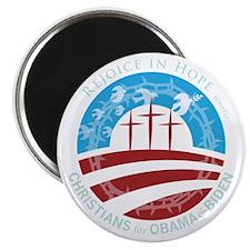"Christians for Obama 2.25"" Magnet (100 pack)"