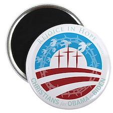 "Christians for Obama 2.25"" Magnet (10 pack)"