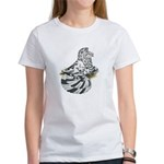 English Trumpeter Dun Splash Women's T-Shirt