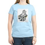 English Trumpeter Dun Splash Women's Light T-Shirt