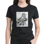 English Trumpeter Dun Splash Women's Dark T-Shirt