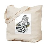 English Trumpeter Dun Splash Tote Bag