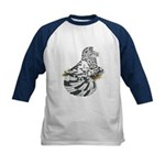 English Trumpeter Dun Splash Kids Baseball Jersey