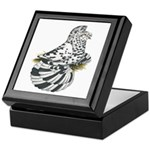 English Trumpeter Dun Splash Keepsake Box