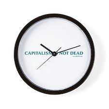 Capitalism Is Not Dead Wall Clock