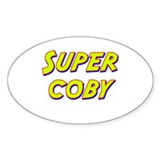 Super coby Oval Decal