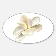 Magnolia Oval Decal