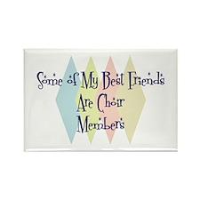 Choir Members Friends Rectangle Magnet