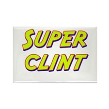 Super clint Rectangle Magnet