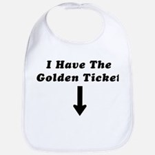 I Have the Golden Ticket Bib