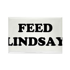 feed lindsay Rectangle Magnet