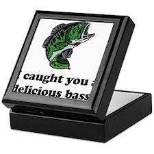 I Caught You A Delicious Bass Keepsake Box