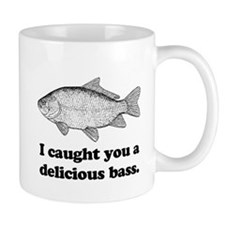 I Caught You A Delicious Bass Mug
