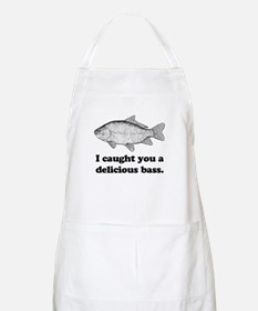 I Caught You A Delicious Bass BBQ Apron