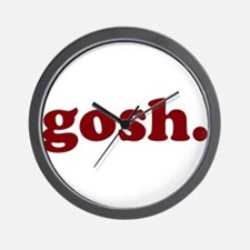 gosh Wall Clock