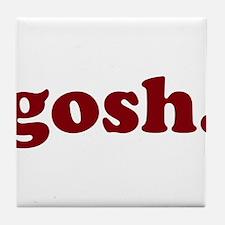 gosh Tile Coaster