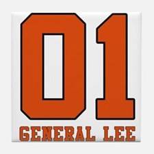 General Lee Tile Coaster