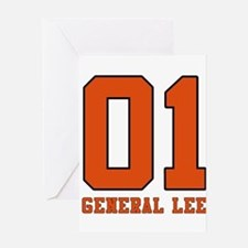 General Lee Greeting Card