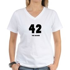 42 the answer to the question Shirt