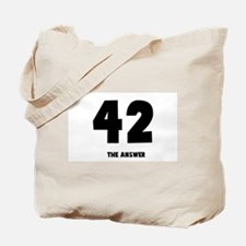 42 the answer to the question Tote Bag