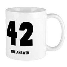 42 the answer to the question Small Mug