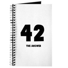 42 the answer to the question Journal