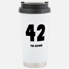 42 the answer to the question Stainless Steel Trav