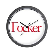 Focker Gear Wall Clock