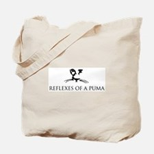 Reflexes of a Puma Tote Bag