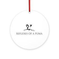 Reflexes of a Puma Ornament (Round)