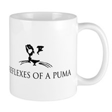 Reflexes of a Puma Mug