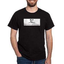 Reflexes of a Puma T-Shirt