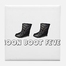 Moon Boot Fever Tile Coaster
