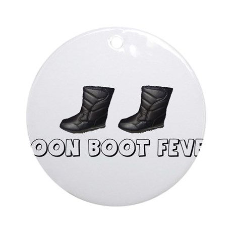 Moon Boot Fever Ornament (Round)