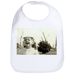 Laughing Girl Bib