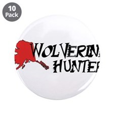 "Wolverine Hunter 3.5"" Button (10 pack)"