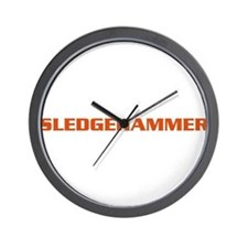 Sledgehammer Bike Wall Clock