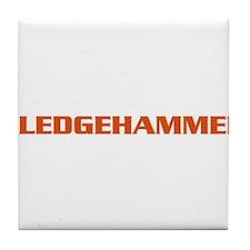 Sledgehammer Bike Tile Coaster