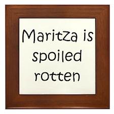 Cool Maritza Framed Tile