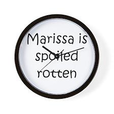 Cute Marissa Wall Clock