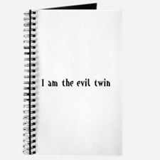 I am the evil twin Journal