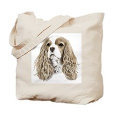 Cavalier king Charles spaniel Tote Bag