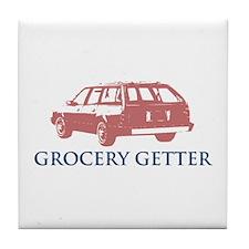 Grocery Getter Tile Coaster