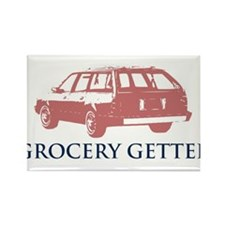 Grocery Getter Rectangle Magnet (10 pack)